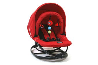Valco Baby/Newborn + Gyro Rocker/Reclining Seat Chair/Rocking & Stationary Red