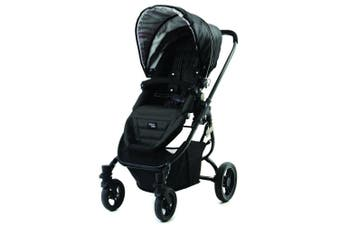 Valco Snap Ultra Pram/Stroller Foldable/Recline for Baby/Infant/Toddler Black
