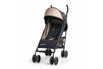 Vee Bee Pixie Foldable Stroller/Pram for Baby/Infant/Toddler/Recline/ Black/BG