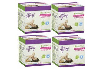 160pc New Beginnings Ultra-Soft/Leak-Proof Disposable Nursing Pads f/ Mothers