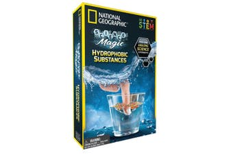 National Geographic Hydrophobic Substances Kids Educational/Science Activity 8y+