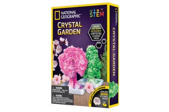National Geographic Crystal Garden Educational Learning/Science Kids Activity 8+