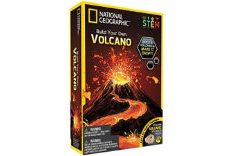 National Geographic Build Your Own Volcano Kids Educational/Science Activity 8y+
