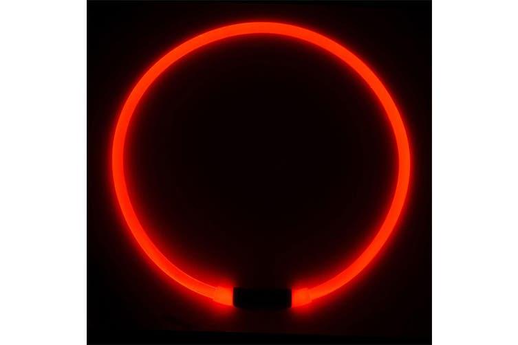 Nite Ize NiteHowl LED Dog Pet Safety Glow/Flash Light Collar Necklace Red