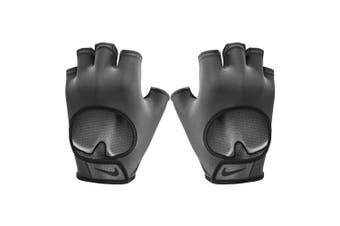 Nike Women's Ultimate Fitness Gloves Workout Training Exercise Medium Anthracite