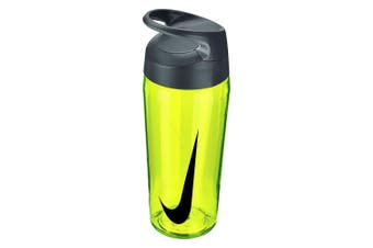 Nike Hypercharge 473ml Water Bottle Training Hydration Sports BPA Free Neon YL