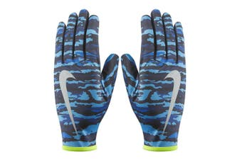 Nike Men's Printed Lightweight Rival Run Gloves Fitness/Running Workout Medium