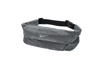 Nike Running Waistpack Expandable/Adjustable Elastic Fitness/Hiking Belt Silver