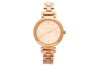 DKNY Women Ellington Analog Ladies Stainless Steel Quartz Wrist Watch Rose Gold