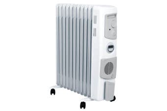 Dimplex 2400W Freestanding Oil Column Heater Portable Heating w/ Timer/Fan