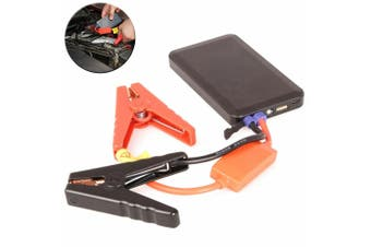 Laser 6000mAh Power Bank USB Charger/Portable Jump Starter Emergency Car Battery