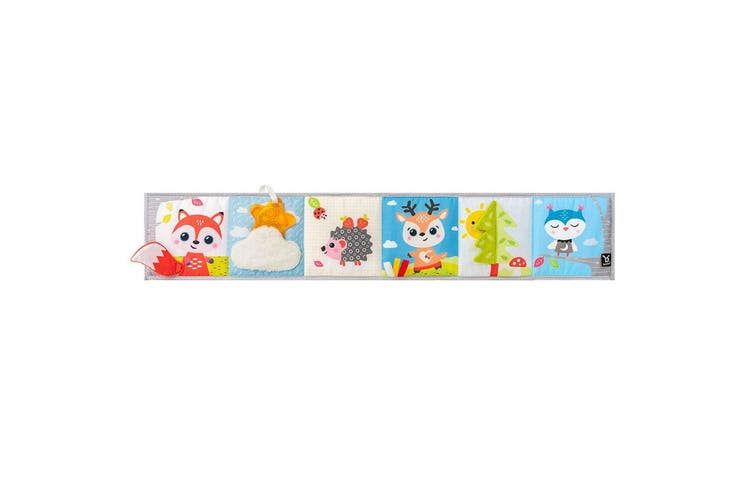 Benbat Double Sided First Baby Book Infant 0m+ Early Educational/Development Toy