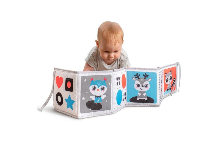 2PK Benbat Double Sided First Baby Book Infant 0m+ Educational/Development Toy