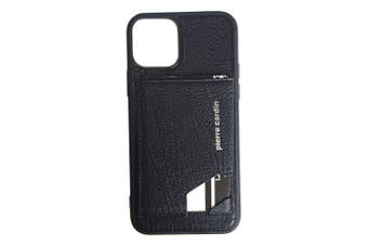 Pierre Cardin Gen. Leather Wallet Case w/Card Holder/Stand for iPhone 11 Pro BLK