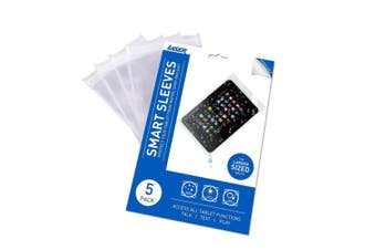 "5PK Laser Water/Dirt/Sand Resistant/Protection Smart Sleeve Case for 10"" Tablet"