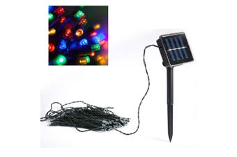 Colour Outdoor/Indoor 100 LED Xmas Christmas Decoration/Party Lights/Solar Panel