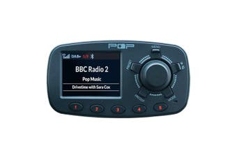 Pop In-Car Digital DAB+ FM Radio & Bluetooth Adapter for Hands Free Calling