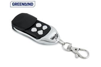 Greenlund PTX-5V1 Universal Garage Door Remote Control w/Keyring Clip BLK/Silver