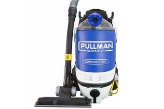Pullman 1250W Advance Commander Commercial HEPA Backpack Vacuum Cleaner PV900