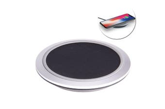 Laser 9V Qi Wireless Fast Charger Pad Charging Mat for Apple iPhone/Samsung