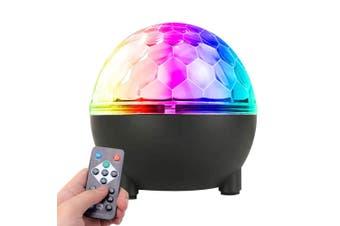 Sansai USB Bright LED RGB Party Light Disco Ball Indoor Room Lighting w/ Remote