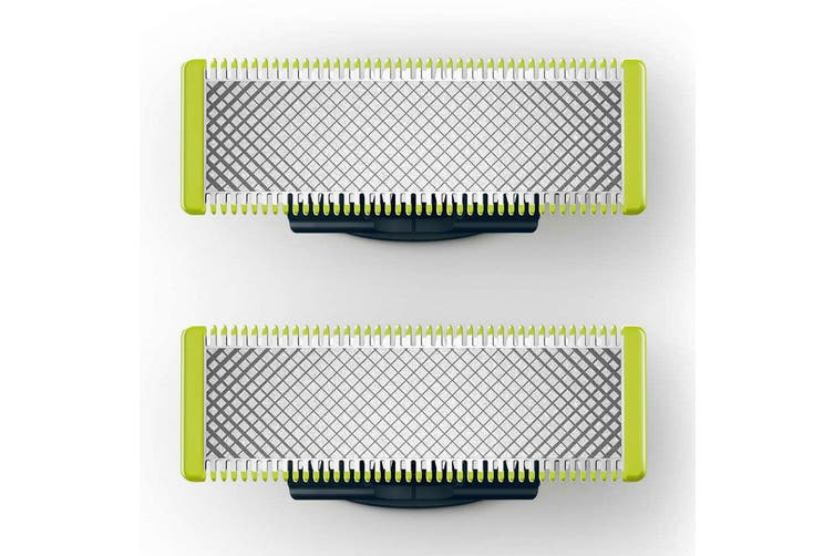 2pc Philips Replacement Shaving Blades for OneBlade Handle QP25 QP26 QP65 QP66