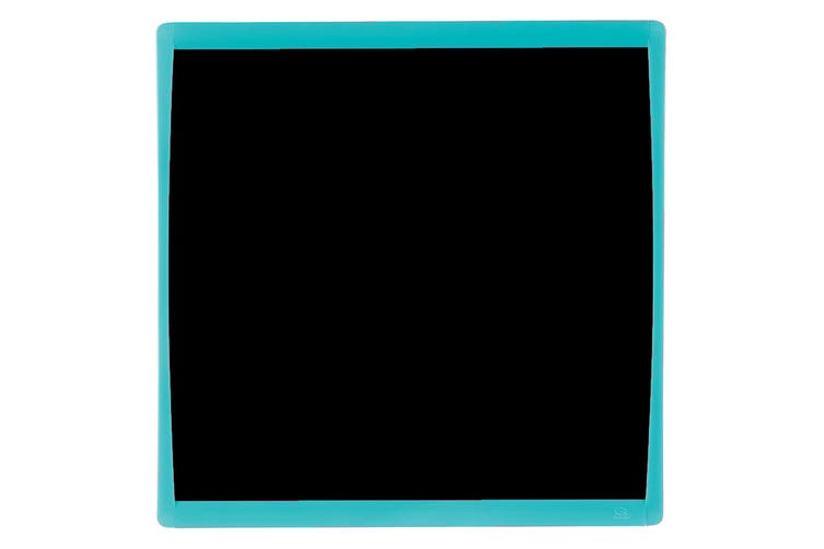 Quartet Basics Chalkboard 350x350mm Memo Notes Magnetic Board Learning Tool Blue