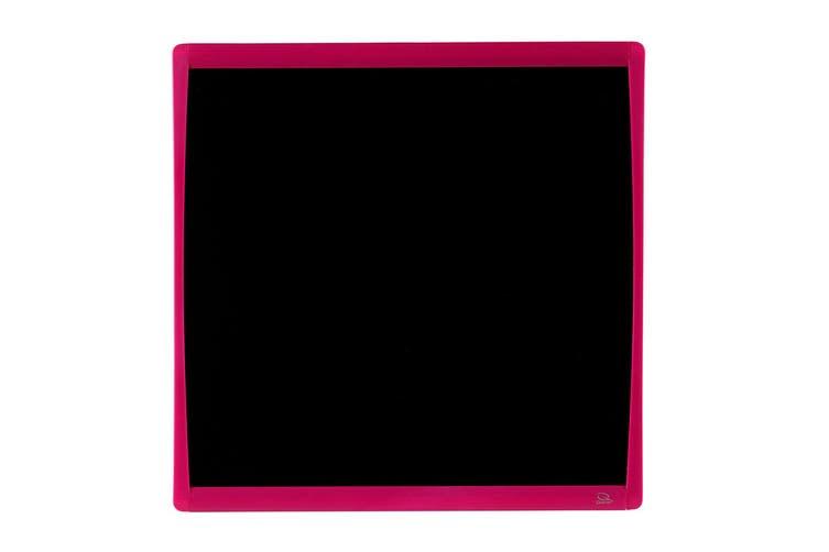 2PK Quartet Basics Chalkboard 350x350mm Memo Notes Magnetic Learning Board Pink