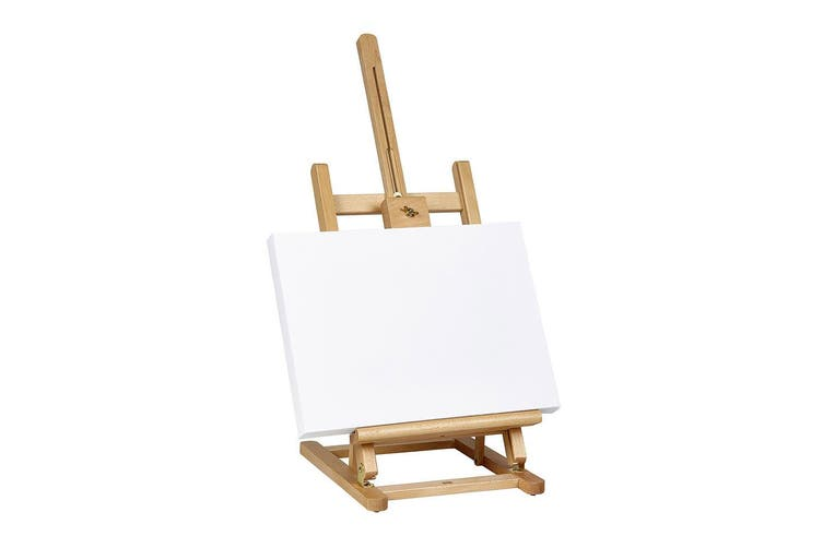 Derwent Artist Desktop Easel/Art Holder/Adjustable/50cm for Canvas Display/Paint