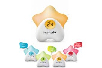 Sleep Easy RA502 Baby Digital Thermometer Room Temperature Night Light Nursery