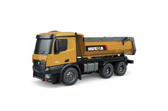 Lenoxx 10 Ch RC Die Cast Dump Truck 1:14 Vehicle Kids 8y+ Sand Construction Toy