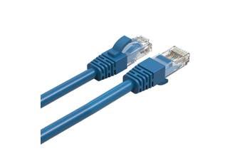 Cruxtec 0.3m CAT6/RJ45 Network Lead Cable LAN Ethernet Internet Router Cord Blue