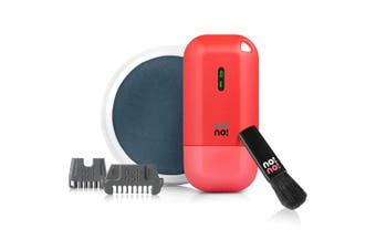 No!no Micro Cordless Painless Hair Removal Semi-permanent for Face/Body/Legs Red