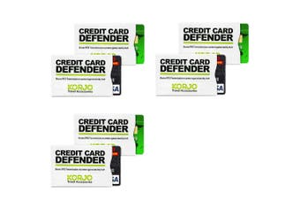 6pcs Credit/Smart Card Defender RFID Shield/Shielding Theft Protection Security