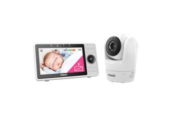Vtech Wi-Fi Pan/Tilt Safety Video/Audio Baby Monitor w/ Remote Access/Lullabies