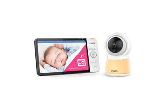 "Vtech 7"" Wi-Fi HD Safety Video/Audio Baby Monitor/Camera w/Remote Access/Lullaby"