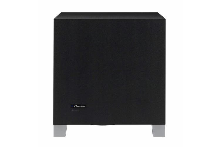 Pioneer S-52W Active Subwoofer 150W HiFi Sound Class D for Home TV Theatre Black