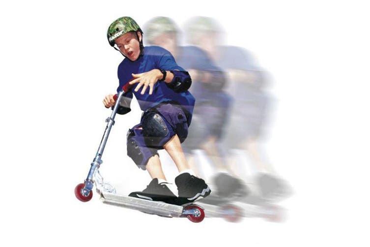 Razor A Kick Scooter Kids/Children 2 Wheel Adjustable Push Ride On Toy 5y+ Red