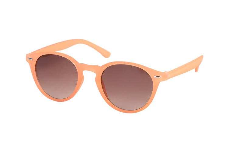 Defy Fashion Roundeye Women/Ladies UV 400 Sunglasses Eyewear Glasses Orange