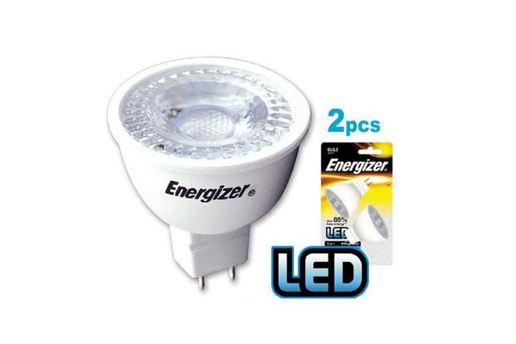 6PK Energizer LED GU5.3/MR16 5W/345LM Warm White Downlight Spot Lightbulb Bulb