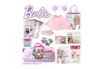 Barbie Fab Life Showbag w/Backpack/Notebook/Duffle Bag/Headband/Socks/Stickers
