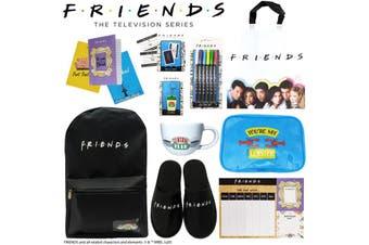 Friends TV Show Kids Showbag w/Backpack/Socks/Slippers/Travel Mug/Keychain/Cards