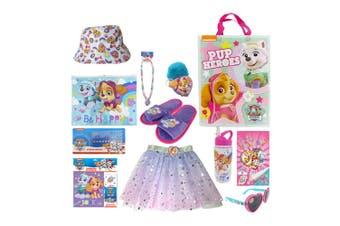 Nickelodeon Kids Children Paw Patrol Skye Showbag Hat/Stickers/Skirt/Necklace