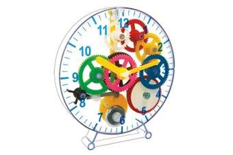 Keycraft Make Your Own Wind Up Clock Kids/Children 10y+ Educational Toy DIY Kit