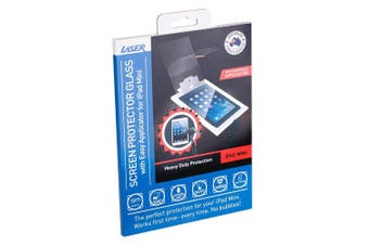 Laser Screen Protector Scratch Resist Tempered Glass for Apple iPad Mini 1/2/3
