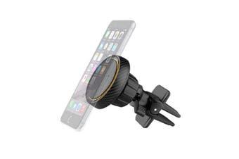 Sansai Magnetic Car Smartphone/Mobile Air Vent Holder/Mounts Hands Free Black