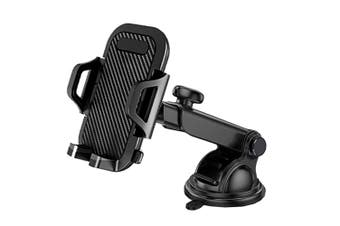 Sansai Universal Car Dash Phone Holder/Mount for Mobile iPhone/Samsung Black