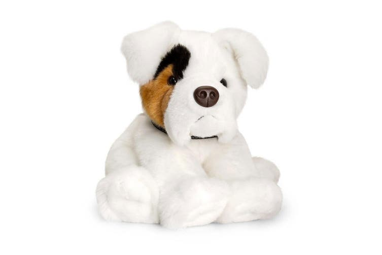 Keel 35cm Kids/Children Cuddles Boxer Dog Plush Soft Stuffed Toy White Rocky