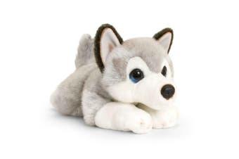 Keel 37cm Little Pup Husky Kids/Children 3y+ Plush/Stuffed Cuddly Animal Toy GRY