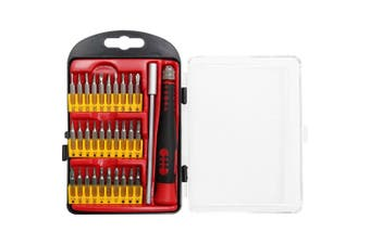 Doss 32pc Precision Screwdriver w/ Bits Set for Electronic/Watch/Glasses Repair